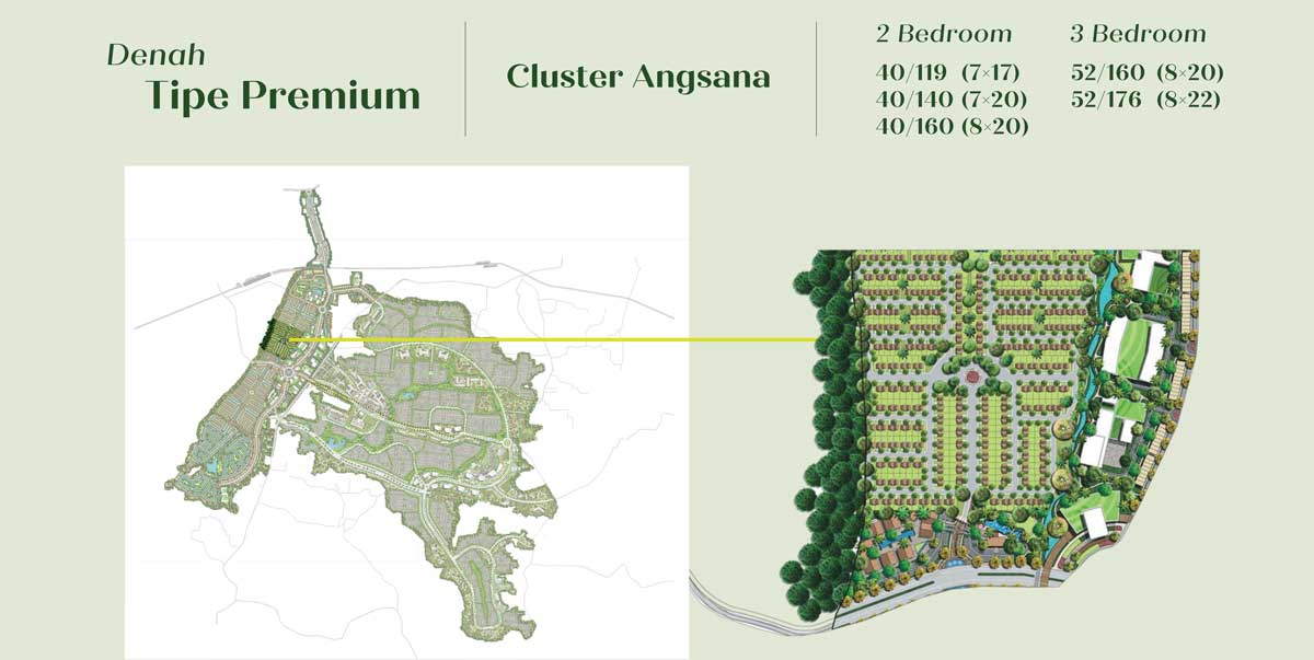 Cluster Angsana kota podomoro