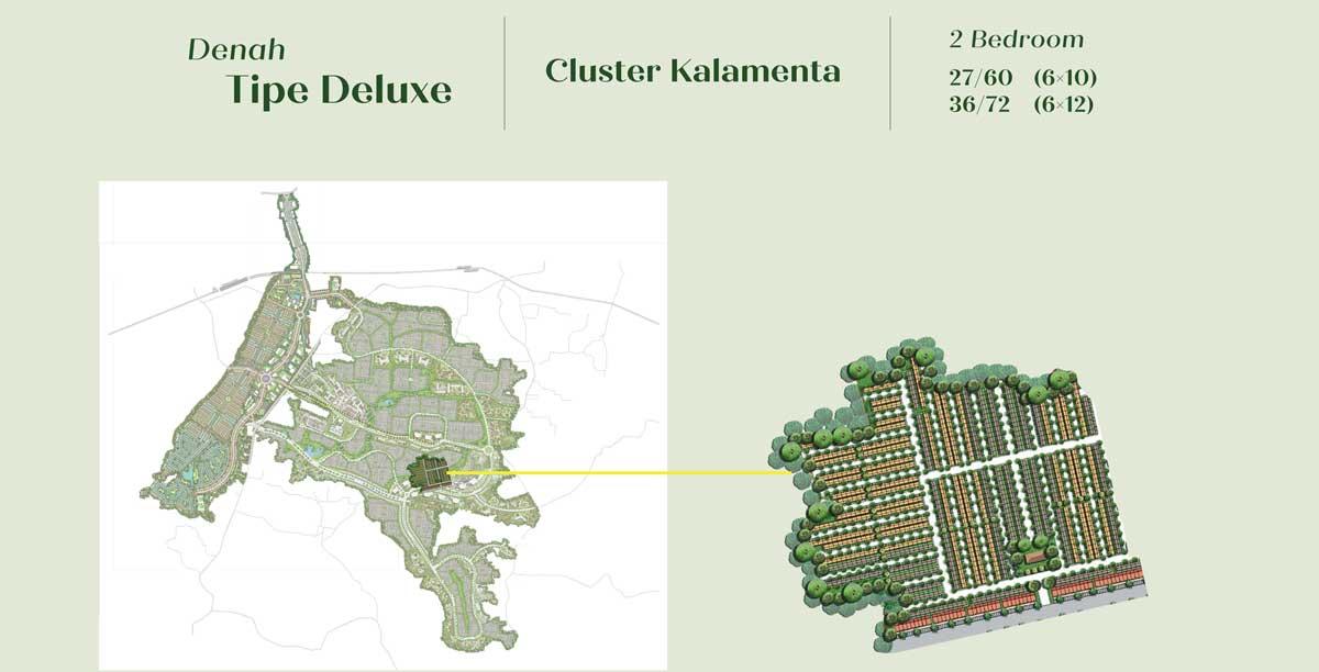 Cluster Kalamenta kota podomoro